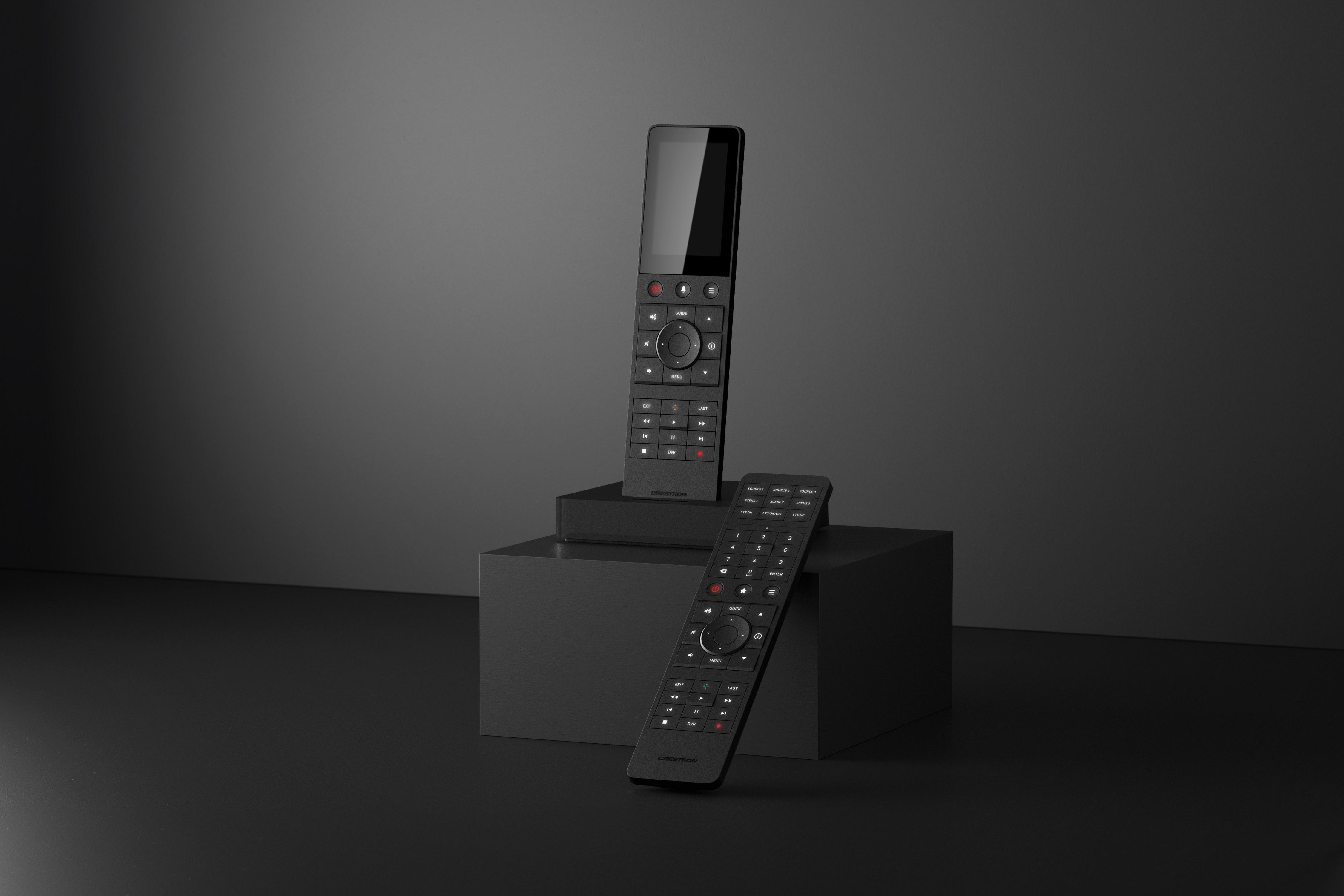 El nuevo mando a distancia Crestron TSR-310 es mejor que cualquier otra cosa.