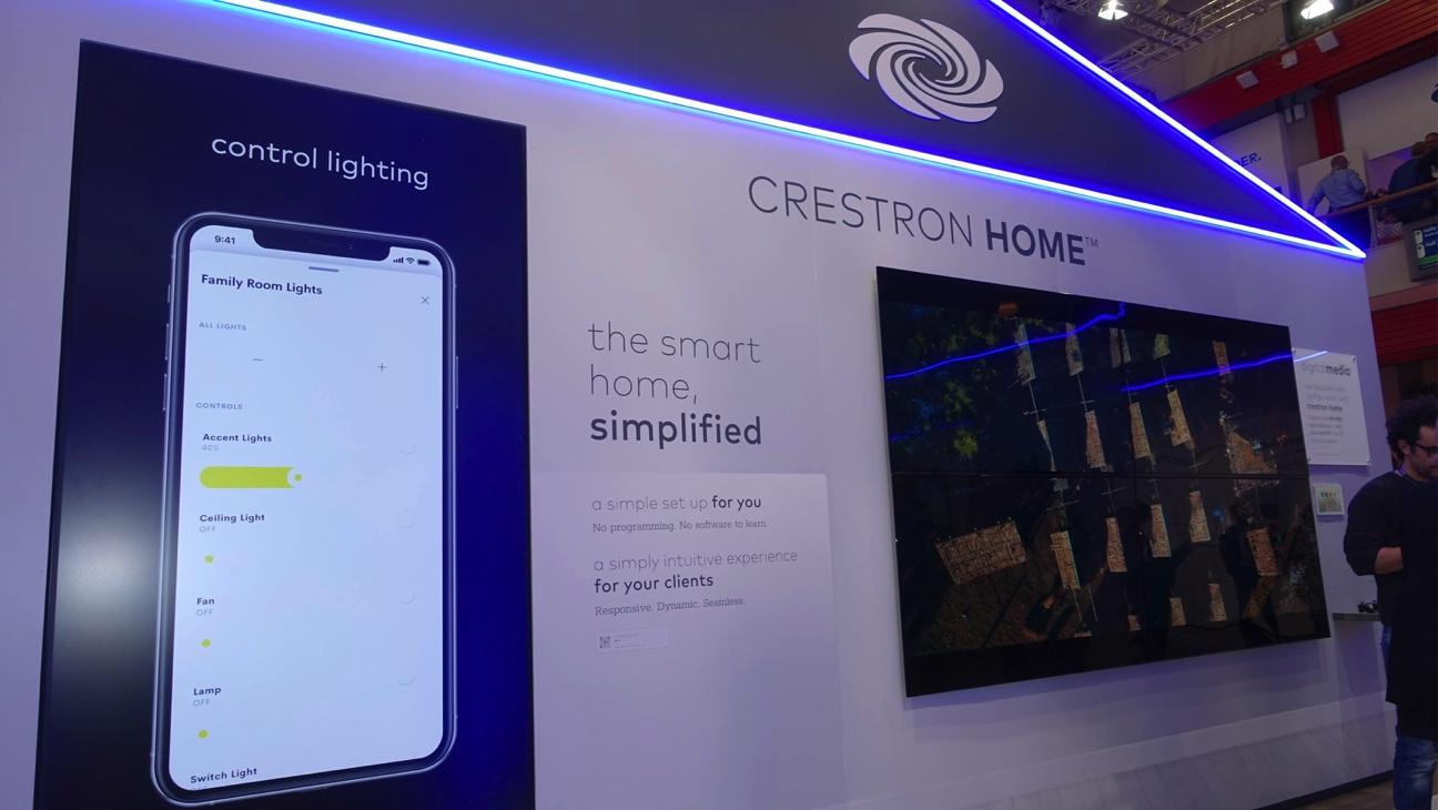 Crestron Home, integración total residencial: uno como ninguno