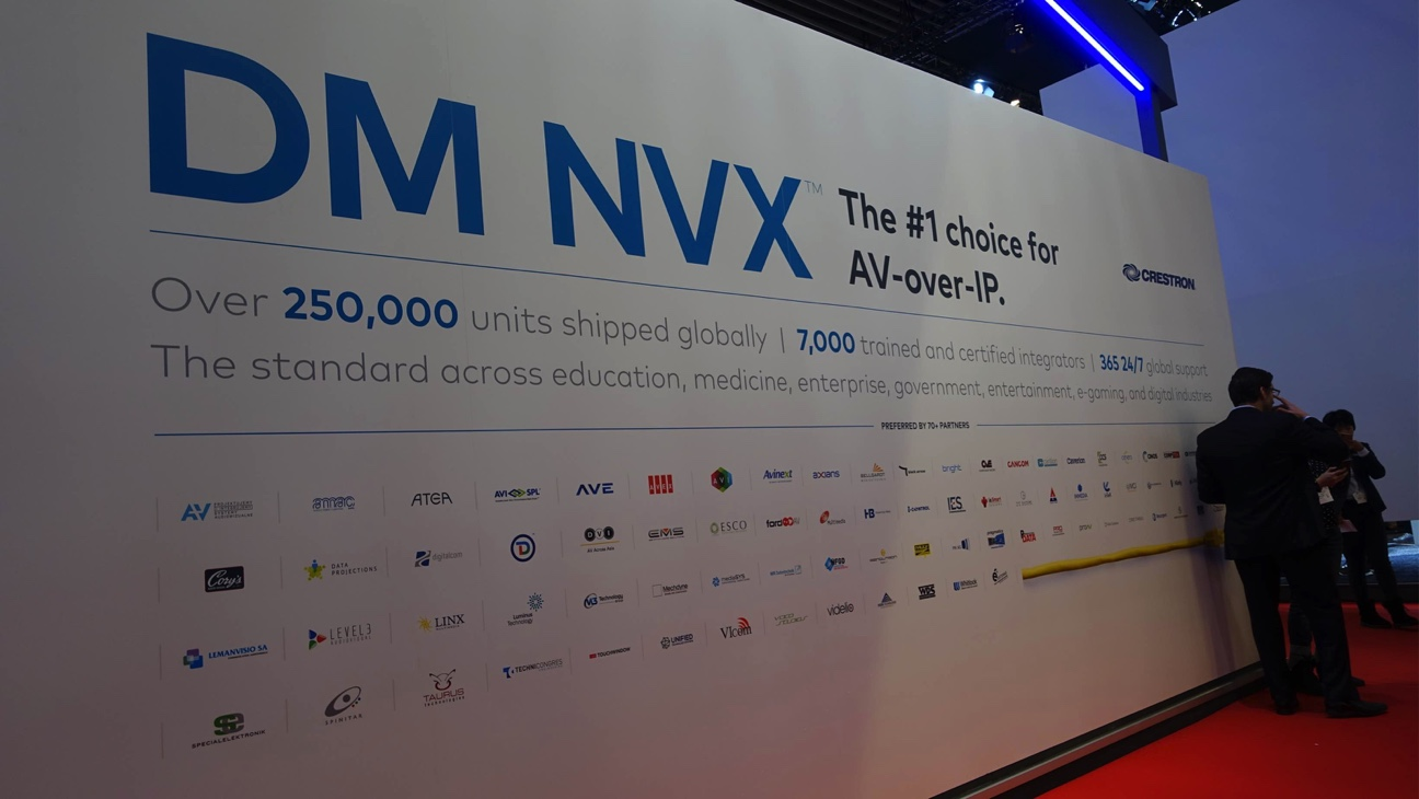Crestron DM NVX, la plataforma mas poderosa de transmisión de video, llega con novedades en ISE 2020