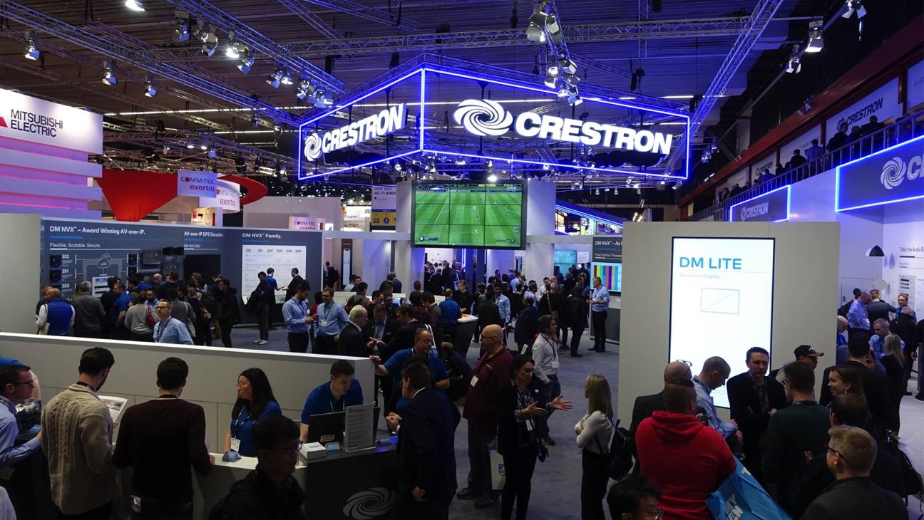 La innovación por delante: Crestron, el líder en tecnología total en ISE 2020