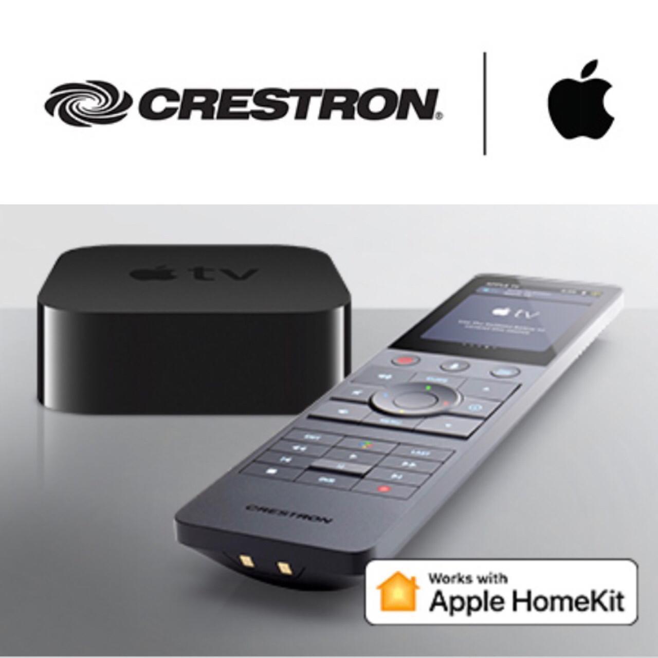 Crestron cada vez más integrado con Apple TV