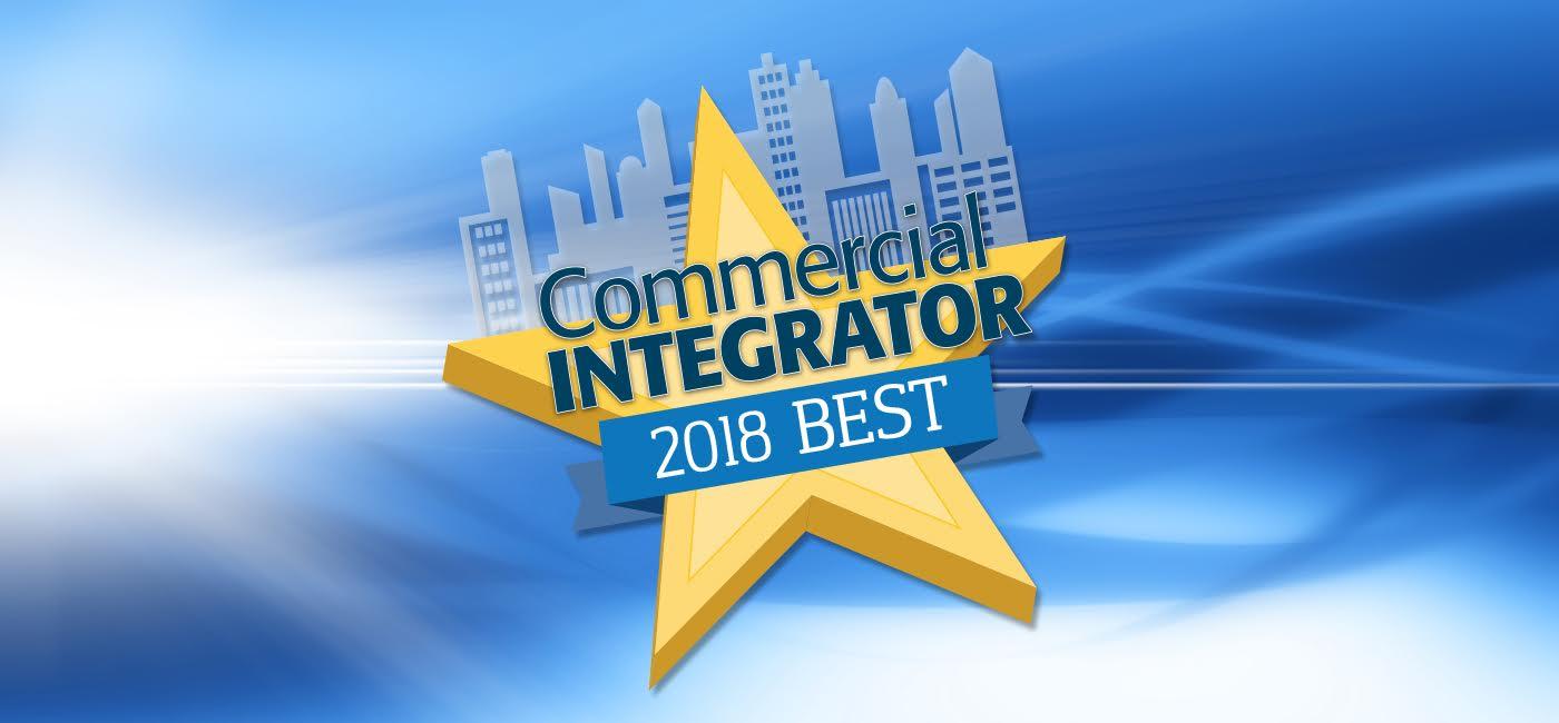 """Crestron, la marca con más """"Best Awards"""" de Commercial Integrator"""