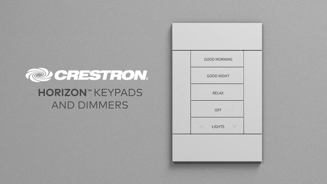 Crestron mejora Horizon™ Teclados con una línea completa de accesorios
