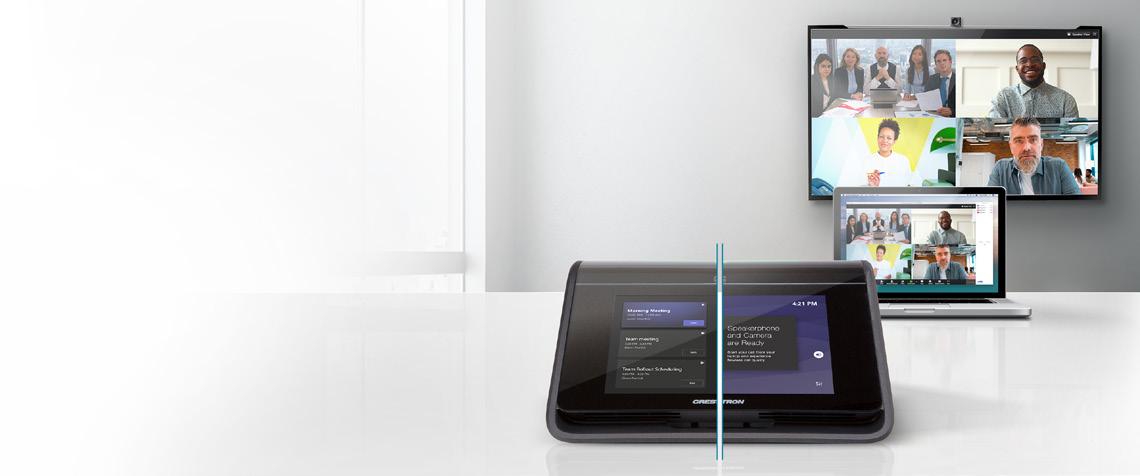Crestron Flex MX: Una primicia en la videoconferencia. Nativo y BYOD todo en uno.